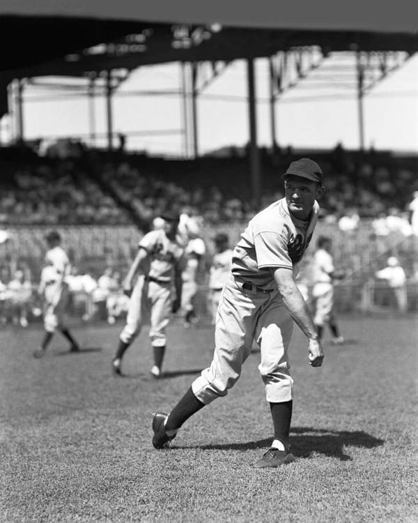 Baseball Print featuring the photograph Claude W. Passeau by Retro Images Archive