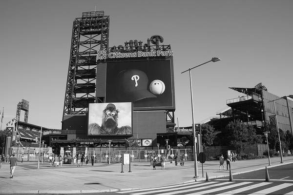 America Print featuring the photograph Citizens Bank Park - Philadelphia Phillies by Frank Romeo