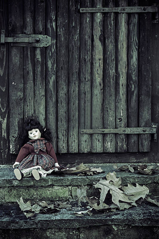 Doll Print featuring the photograph Old Doll by Joana Kruse