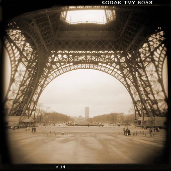 Paris Print featuring the photograph A Walk Through Paris 14 by Mike McGlothlen