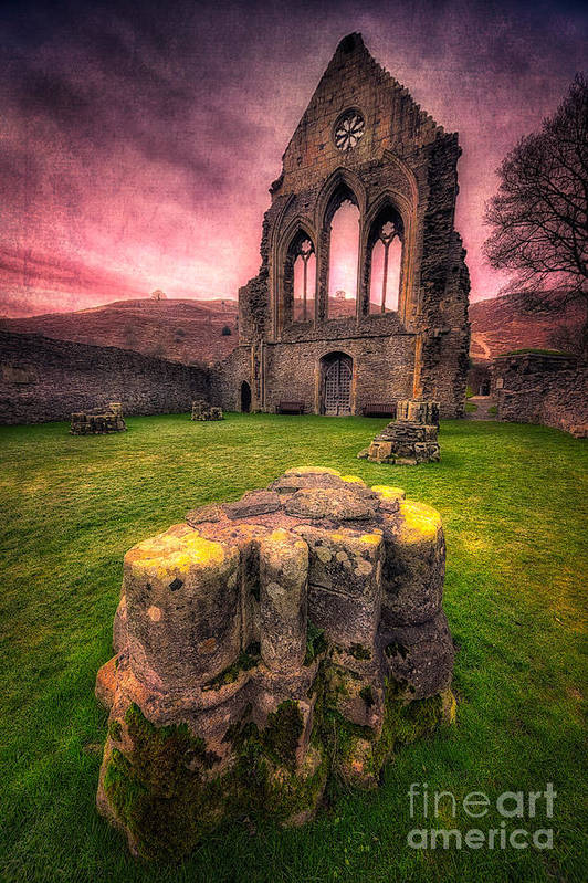 13th Century Print featuring the photograph Abbey Ruin by Adrian Evans