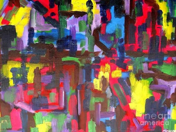 Abstract 213 Print by Patrick J Murphy