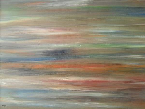 Abstract Print featuring the painting Abstract 426 by Patrick J Murphy