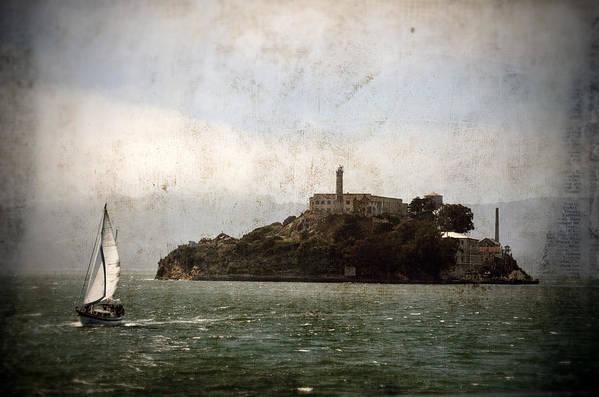 Alcatraz Print featuring the photograph Alcatraz Island by RicardMN Photography