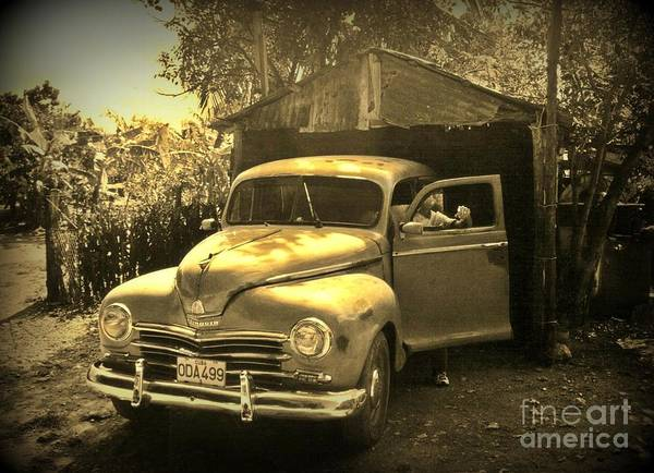 Antique Cars Print featuring the photograph An Old Hidden Gem by John Malone