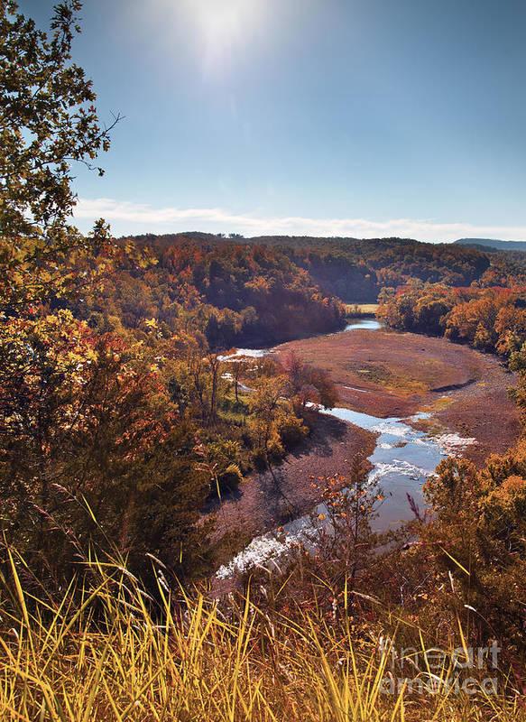 Arkansas Print featuring the photograph Arkansas Valley by Brandon Alms