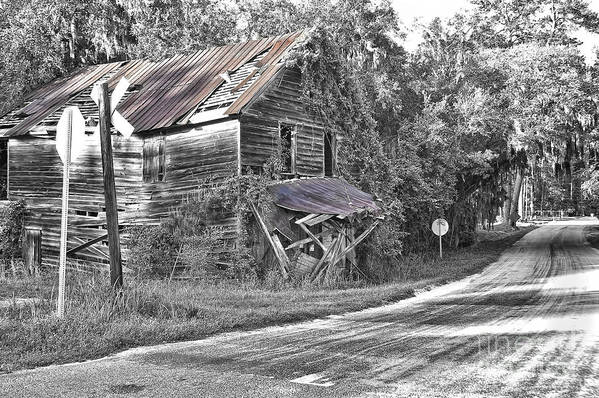 Seabrook Print featuring the photograph Beautifully Decrepit by Scott Hansen