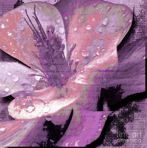 Print featuring the mixed media Beauty Ix by Yanni Theodorou