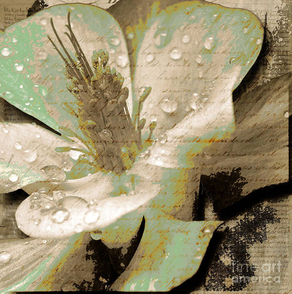 Print featuring the mixed media Beauty Vi by Yanni Theodorou