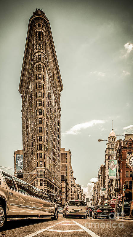 Nyc Print featuring the photograph Big In The Big Apple by Hannes Cmarits