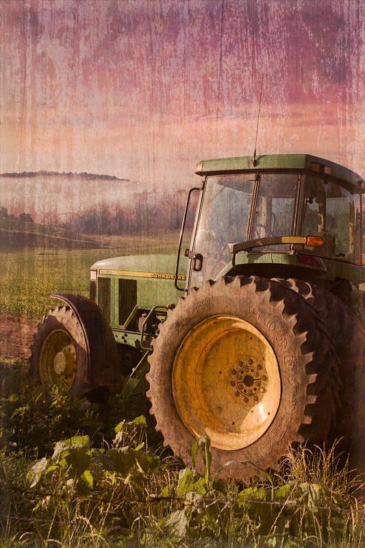 Appalachian Print featuring the photograph Big John by Debra and Dave Vanderlaan