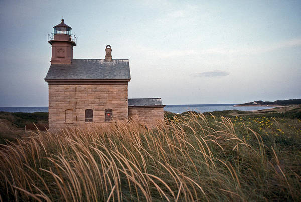Lighthouse Print featuring the photograph Block Island North West Lighthouse by Skip Willits