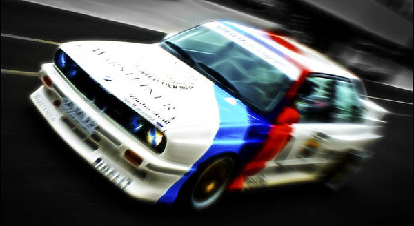 Bmw M3 Print featuring the photograph Bmw E30 M3 Racer by Phil 'motography' Clark