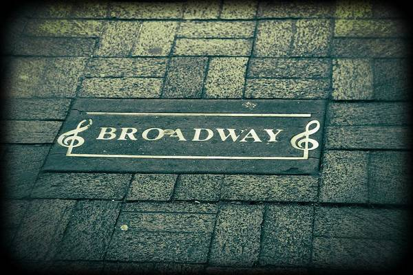 Broadway Print featuring the photograph Broadway by Dan Sproul