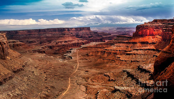 Canyonland Print featuring the photograph Canyonland by Robert Bales