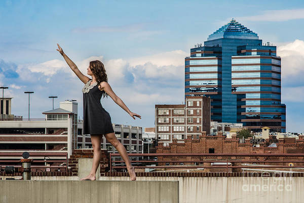 Durham Print featuring the photograph Dance The Durham Skyline by Jh Photos