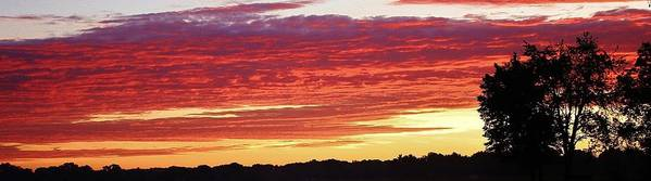 Sunset Print featuring the photograph Days End by Bruce Bley