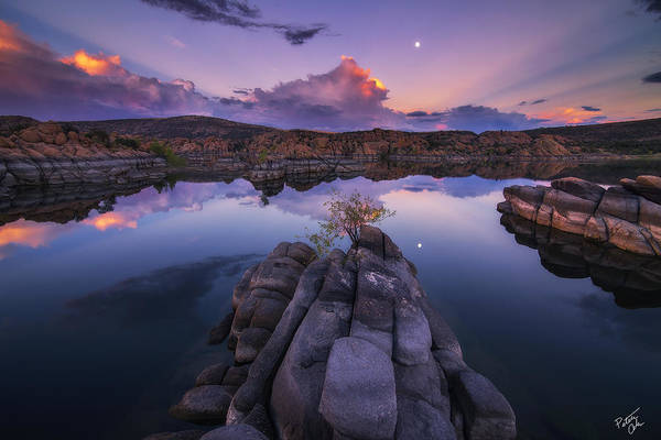 Watson Lake Print featuring the photograph Days End by Peter Coskun