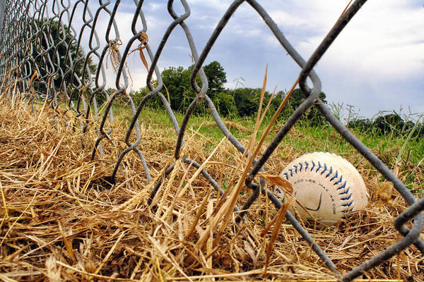 Baseball Print featuring the photograph Field Of Dreams by Jason Politte