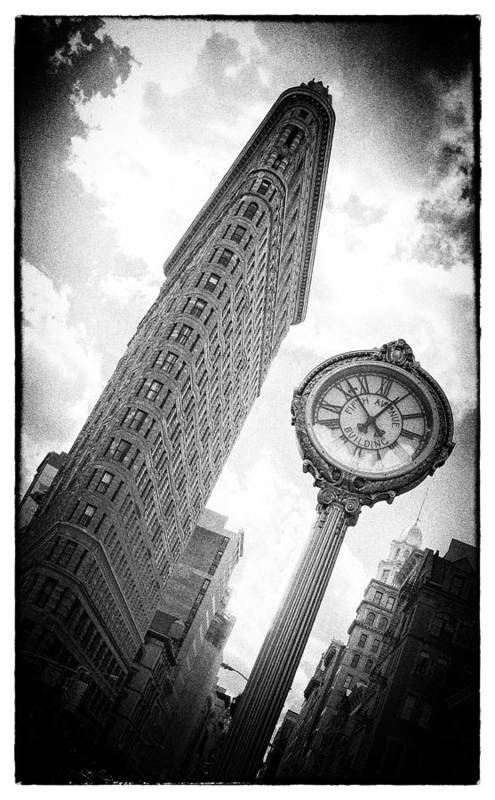 Flat Iron Print featuring the photograph Flat Iron by Peter Aitchison
