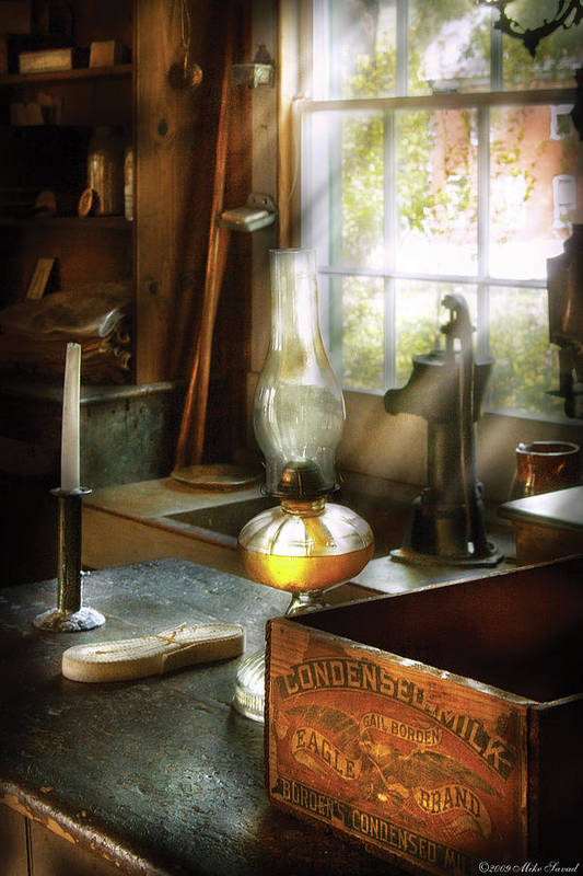Hdr Print featuring the photograph Food - Borden's Condensed Milk by Mike Savad