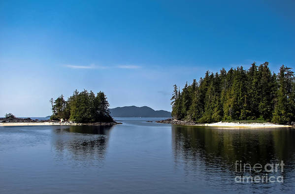 British Columbia Print featuring the photograph Fury Cove by Robert Bales
