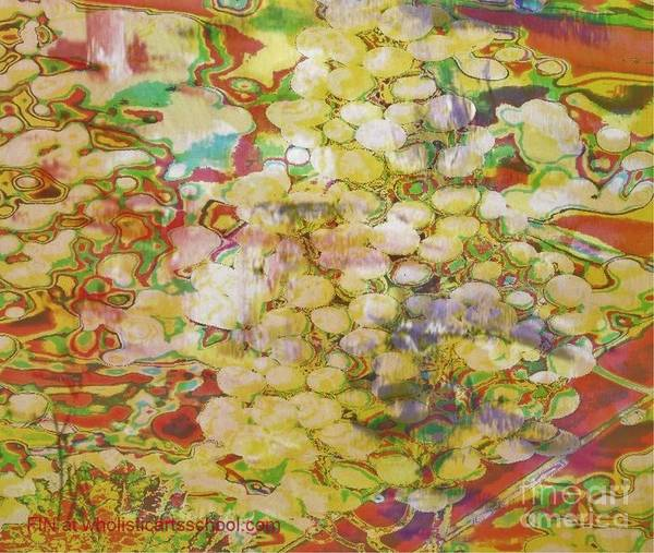 Grapes Print featuring the painting Grape Abundance by PainterArtist FIN