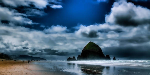 Cannon Beach Print featuring the photograph Haystack Rock IIi by David Patterson