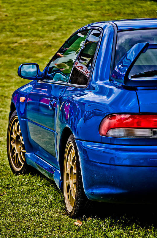 Subaru Impreza Print featuring the photograph Impreza 22b by Phil 'motography' Clark