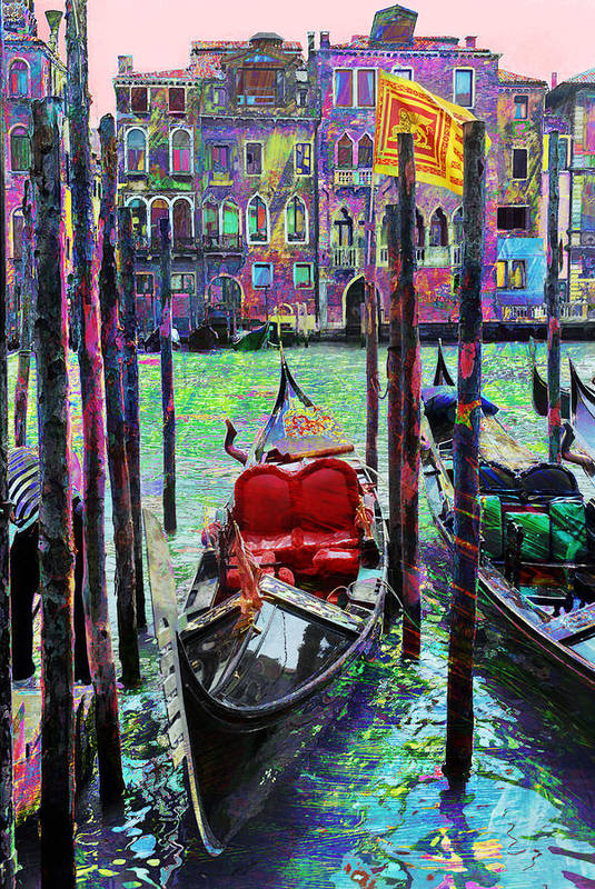 Gondola Print featuring the photograph In The Stable by Steven Boone