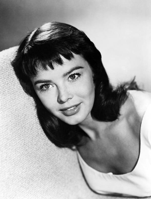 Janet Munro Print featuring the photograph Janet Munro by Silver Screen