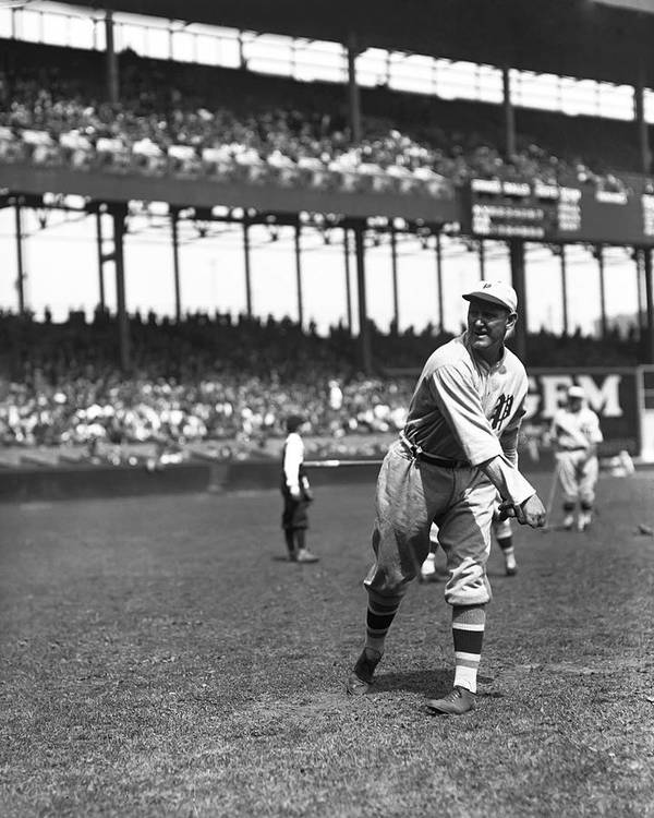 Baseball Print featuring the photograph Jimmy Ring by Retro Images Archive