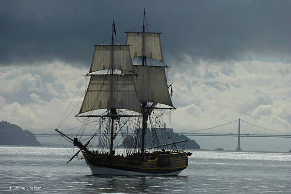 Tall Ship Print featuring the photograph Lady Washington by Sabine Stetson