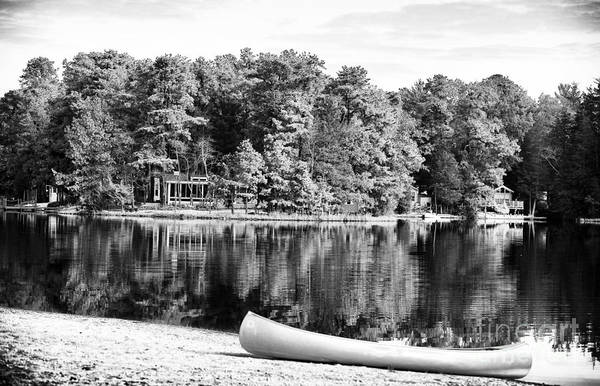 Lake Day Print featuring the photograph Lake Day by John Rizzuto