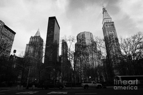 Usa Print featuring the photograph Madison Square Park Flatiron District New York City by Joe Fox