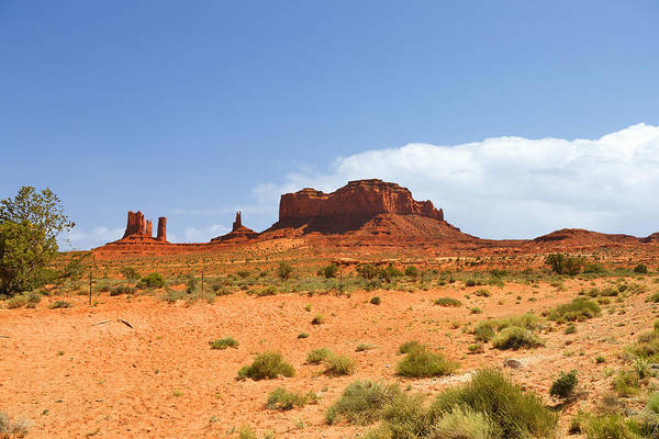 Monument Print featuring the photograph Magnificent Monument Valley by Christine Till