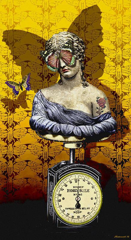 Surrealism Print featuring the digital art Metamorphosis by Larry Butterworth