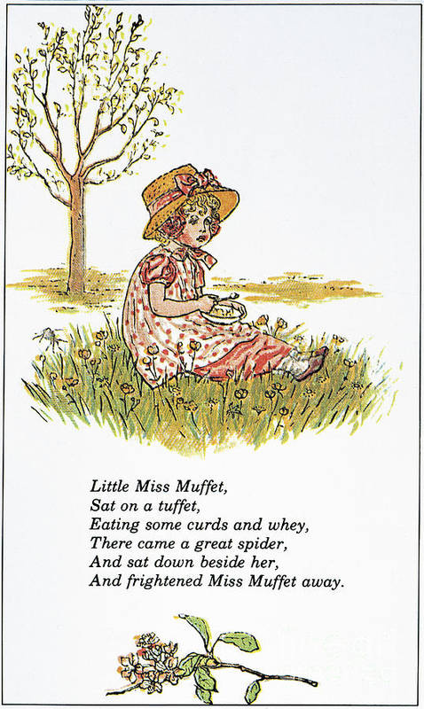 1881 Print featuring the photograph Mother Goose, 1881 by Granger