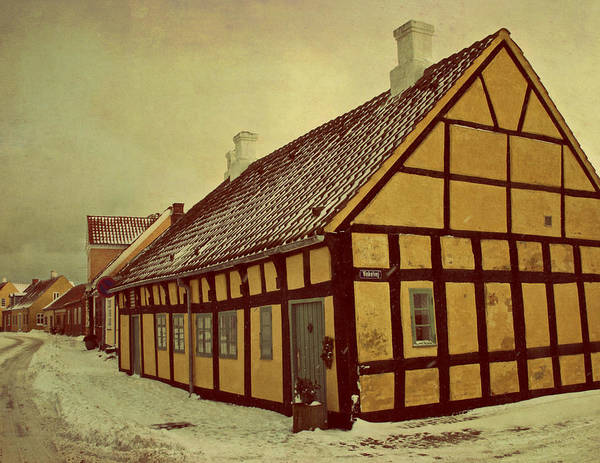 Town Print featuring the photograph Old Town by Odd Jeppesen