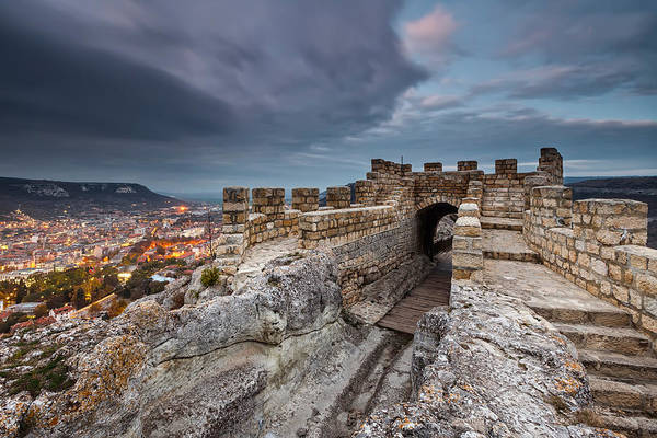 Bulgaria Print featuring the photograph Ovech Fortress by Evgeni Dinev
