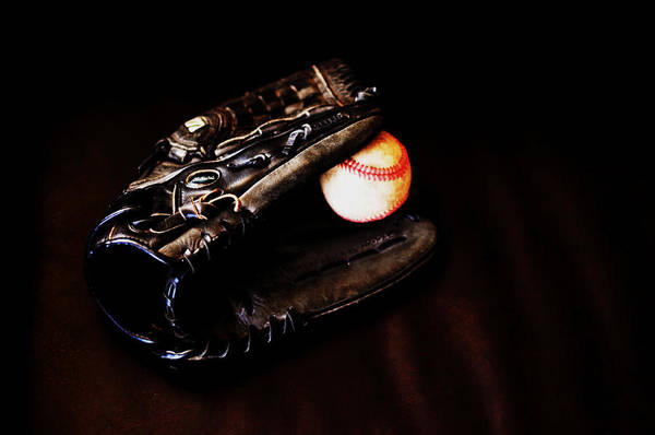 Baseball Print featuring the photograph Play Ball Fine Art Photo by Jon Van Gilder