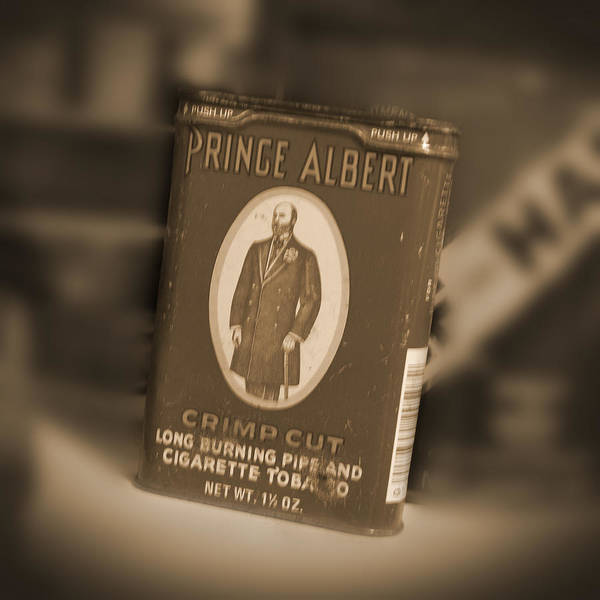 Prince Albert Print featuring the photograph Prince Albert In A Can by Mike McGlothlen
