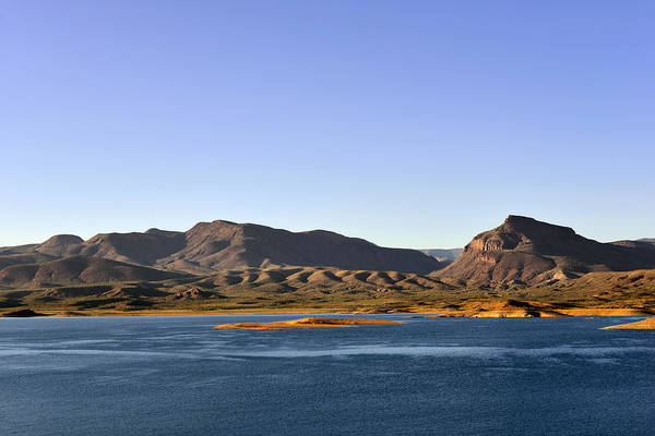 Theodore Print featuring the photograph Roosevelt Lake Arizona by Christine Till