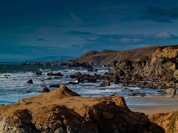 Sonoma Print featuring the photograph Sonoma Coast by Bill Gallagher