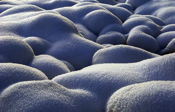 Frost Print featuring the photograph Stone Cold by Michael Van Beber