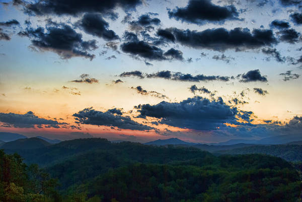 Tennessee Print featuring the painting Sundown by Steven Richardson