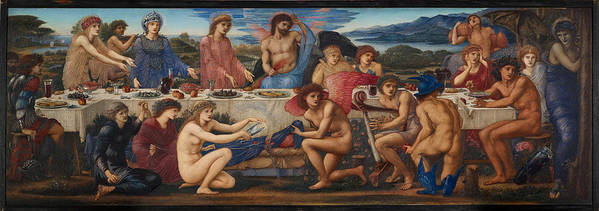"""The Feast of Peleus"" by Edward Burne-Jones"