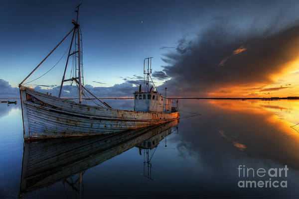 Guiding Light Print featuring the photograph The Guiding Light by English Landscapes
