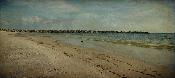 Jetty Print featuring the photograph The Jetty by Sandy Keeton