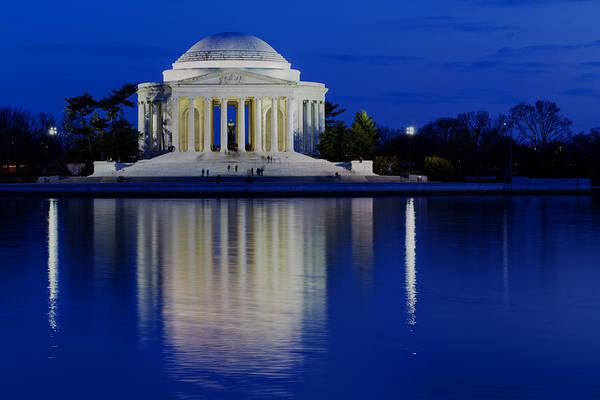 Andrew Pacheco Print featuring the photograph Thomas Jefferson Memorial by Andrew Pacheco